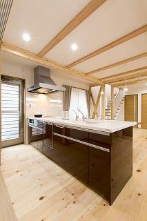 オープンキッチン TOTO (2)