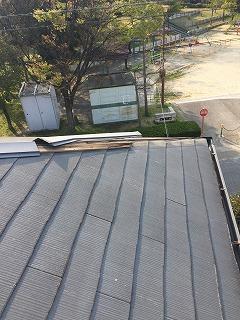 屋根の修繕