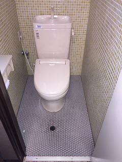 店舗トイレBEFORE