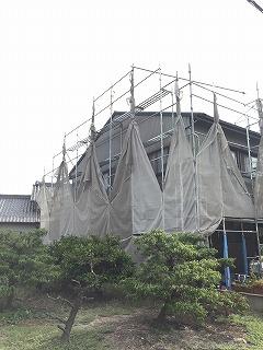 台風の際の現場管理