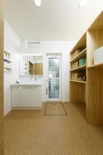洗面室の施工事例