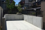 庭を駐車場に AFTER