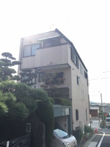 外壁塗装見積もり 戸建て3階
