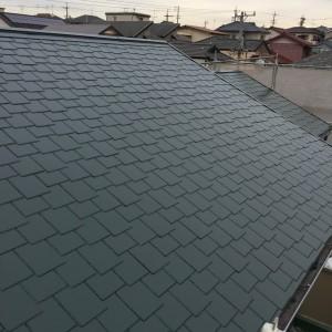 屋根塗装仕上げ1