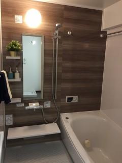 マンション浴室サイズアップ