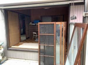 木製窓の取替え