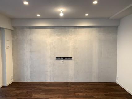 アクセント壁&壁掛けテレビ