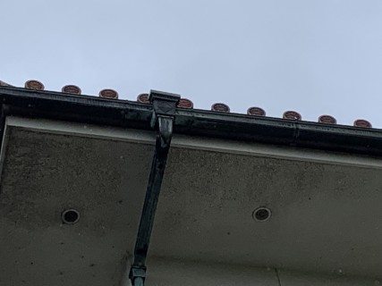銅製の雨どい