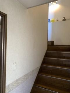 室内 階段てすりBEFORE