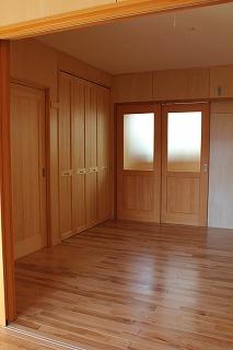 2世帯住宅施工事例 (2)