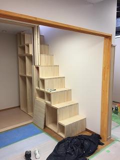 階段を箱で作成