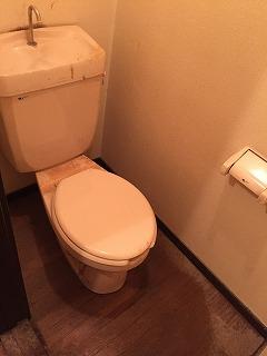 マンション トイレ (1)