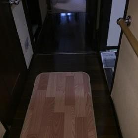 廊下の床張替え