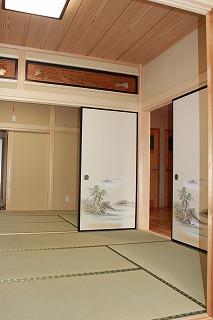 伝統的な和室