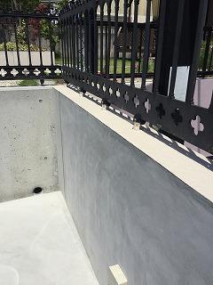 駐車場の柵