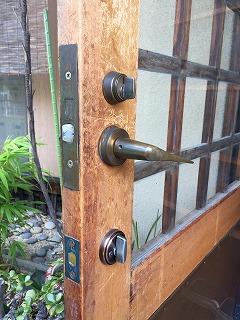 玄関の鍵 交換相談