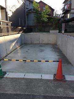 庭を駐車場に 名古屋