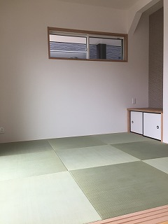 琉球畳の施工