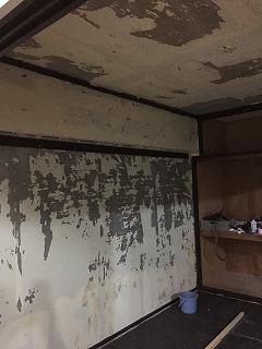 壁紙下地が悪い