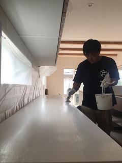 家具の塗装