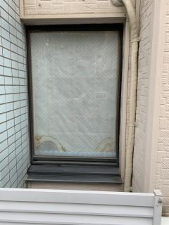 窓にルーバー相談