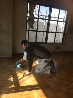 床の構造の確認 (1)