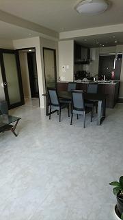 マンション床暖房用のフロア