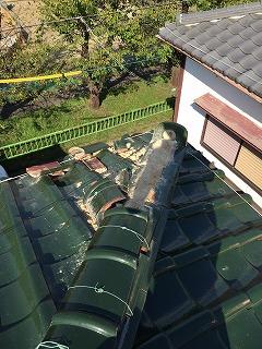 台風被害 屋根