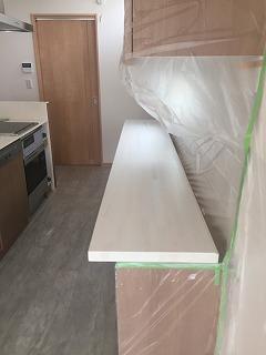 家具の塗装完了