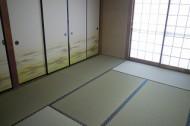 畳新床、襖張替え