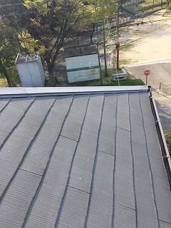 屋根の部品応急処置