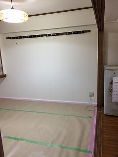 和室を洋室に 壁紙張替え