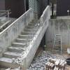 コンクリート擁壁解体