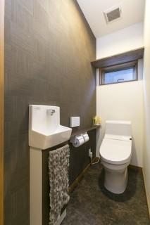 モダンなトイレの施工事例