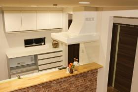 洋風キッチン