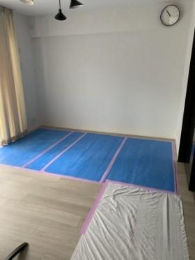 壁掛けテレビ用壁フカシ工事BEFORE