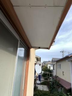 木製の窓枠およびその周辺