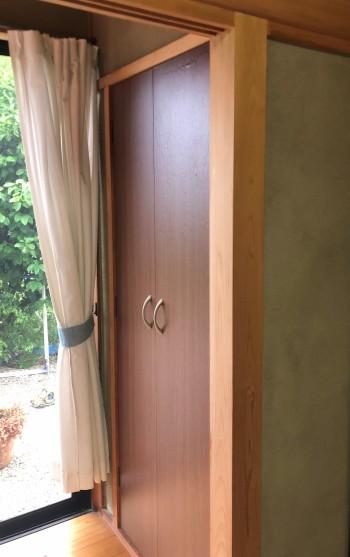 ドア表面の修繕