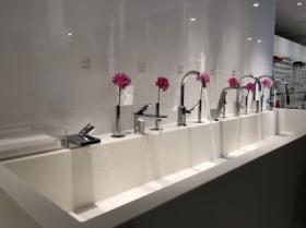 水洗の展示