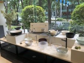 手洗い器展示