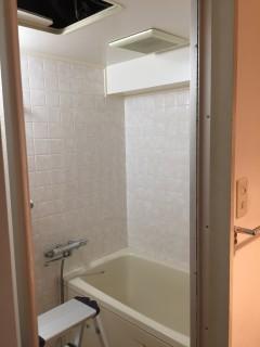 マンション浴室BEFORE