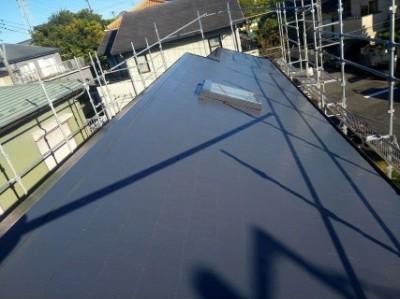 コロニアル屋根の塗装