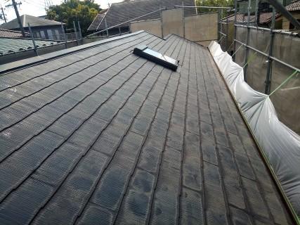 トップライトのある屋根