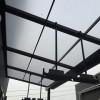 バルコニー屋根の設置