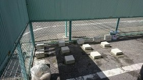 物置基礎ブロック