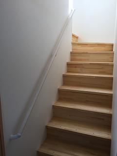 階段手すり工事