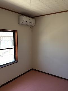 床、壁、エアコン