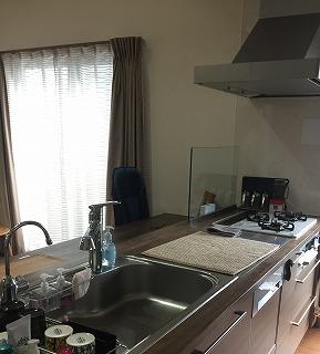 オーダーキッチン 設置1年後