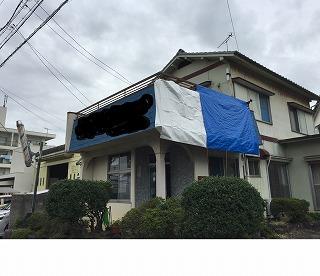 台風被害 外壁、屋根