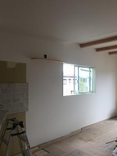 調湿性の壁紙施工